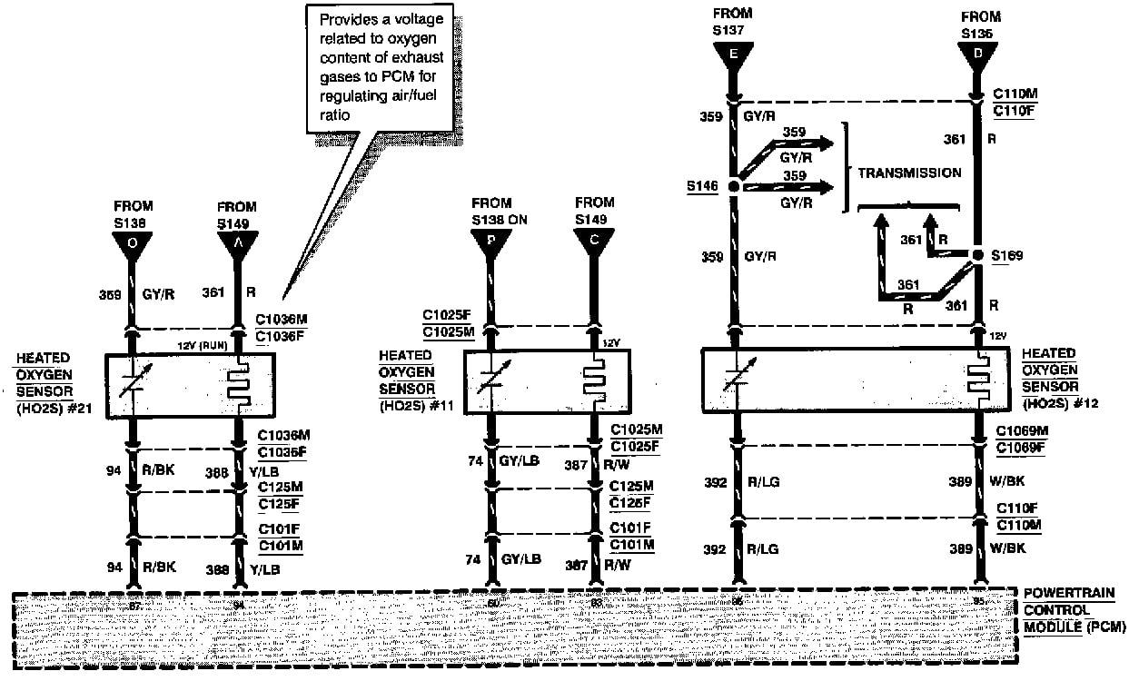 1996 F150 V6 4.9L Check engine light on. Error code PO135 ...