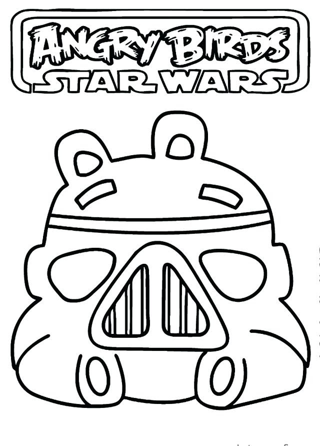 Angry Birds Star Wars 2 Coloring Pages At Getdrawingscom Free For