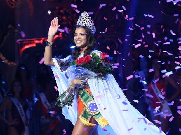 Miss Brasil 2013, Jakelyne de Oliveira. (Foto: Carol Gherardi/Band)