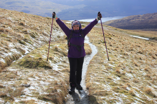 Highland Road Trip and a Hike up Beinn Ghlas