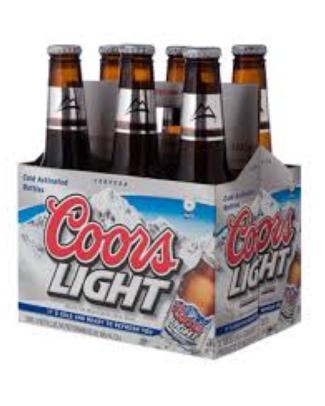 Cerveza Coors Light