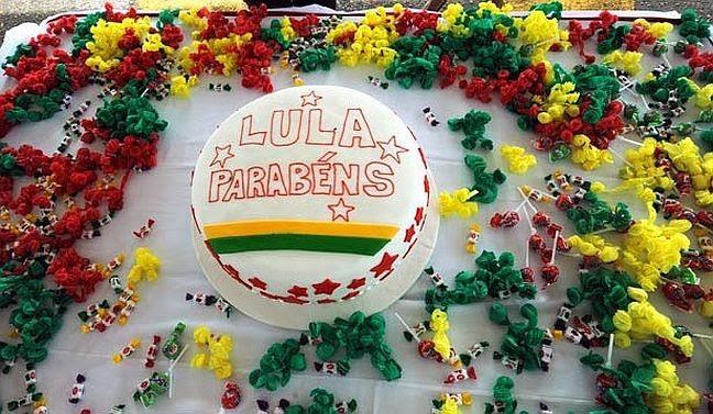 Aniversário Lula (Foto: Arquivo Google)