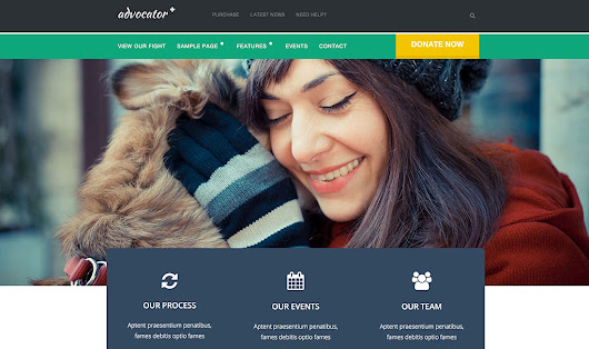 17 Best WordPress Themes For Non-Profit, Charity Organizations 2016 - Colorlib