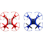 Alta 2-Pack Racers Quadcopter RC Drone 2.4GHz Remote Control - Blue and Red