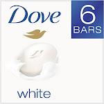 Dove Beauty Bar, White - 6 count, 24 oz box