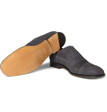 Slip On Suede Shoes Mens Wynsors