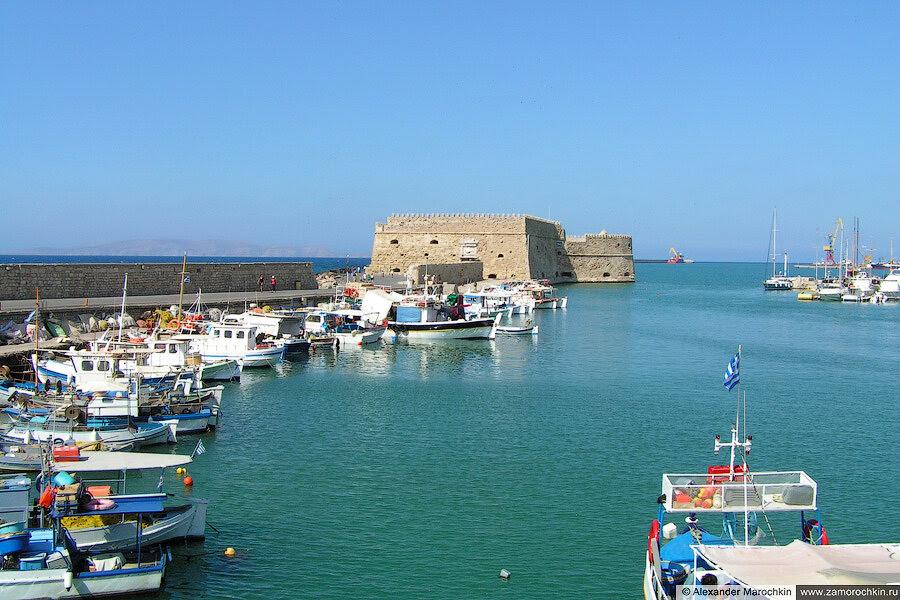 Крепость Кулес, Ираклион | Koules Fortress, Iraklion