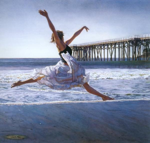 Amazing Watercolor Paintings by Steve Hanks