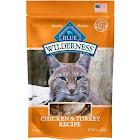 Blue Buffalo Wilderness Cat Treats, Chicken & Turkey - 2 oz pouch