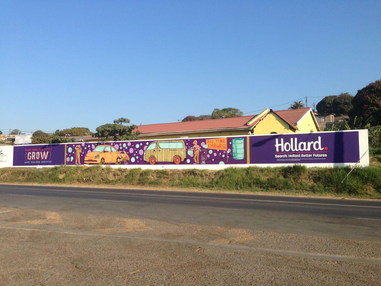 Hollard Insurance Country wide Murals – SJ ARTISTS