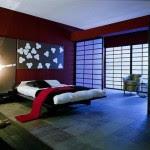Artistic Japanese Bedroom Design Layout