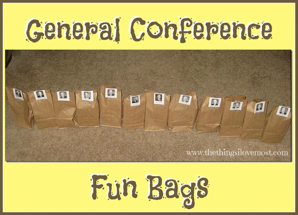 General Conference Fun Bags