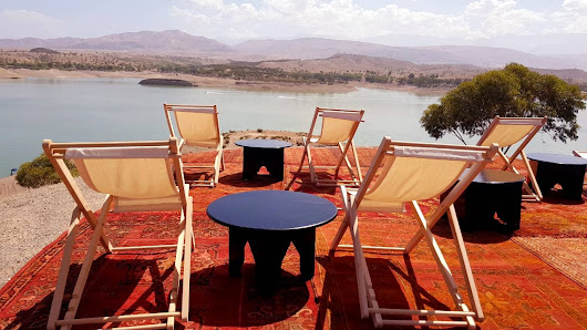 Exclusive deluxe bivouac in Lalla Takerkouste lake by Unitours Maroc