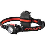 Coast Cutlery 19284 Focusing 7 LED Headlamp Black