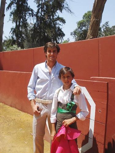 Fernado y Andrés Roca Rey en Camponuevo