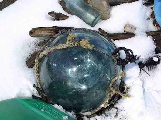 Gems of the ocean: Glass fishing floats