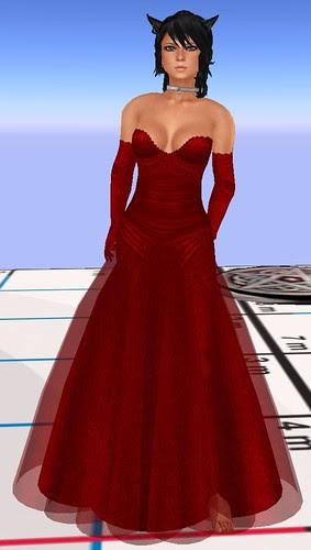 55L <br />Thursday SLC Gown Calarana red July 8 2010