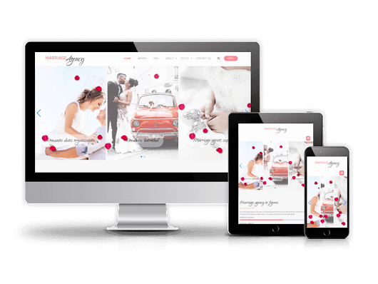Marriage agency - Joomla wedding template - Demo Download Buy this theme Marriage agency -... | ordasoft.com | Joomla, Template