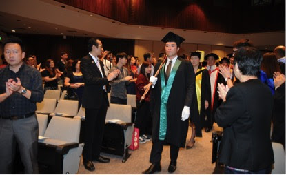WCI held Credential Award Conferment Ceremony in Singapore