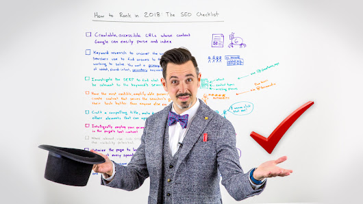 How to Rank in 2018: The SEO Checklist - Whiteboard Friday