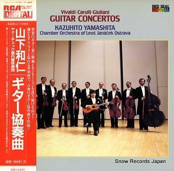 YAMASHITA, KAZUHITO giuliani; concerto for guitar and strings