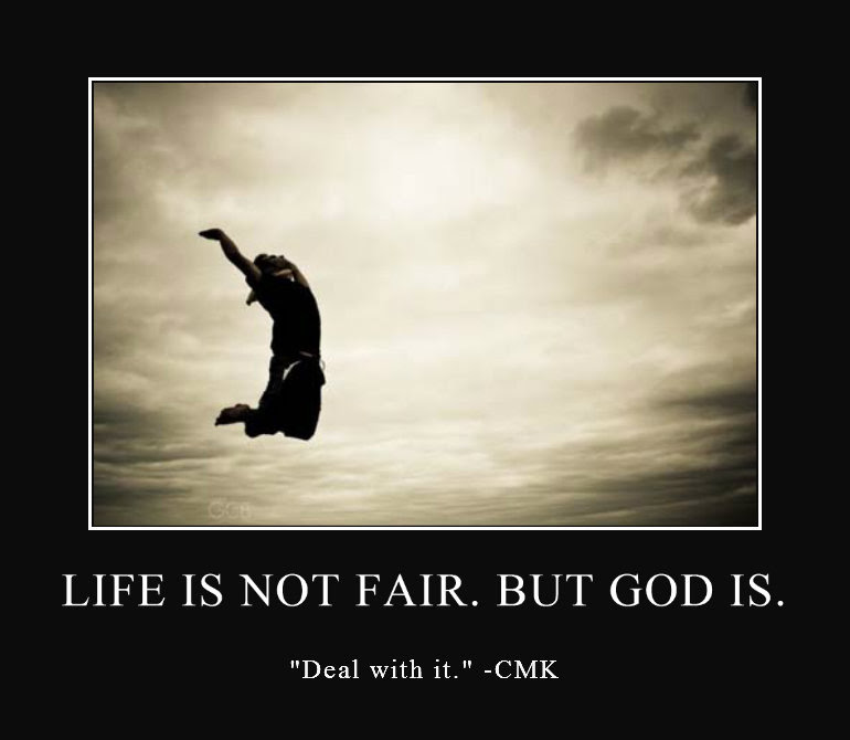 Life Isnt Fair Anglican Perspectives