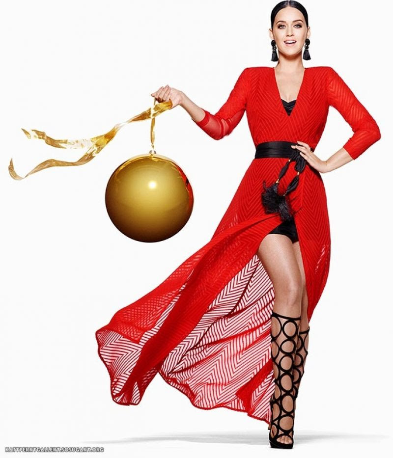 KATY PERRY for H&M Holiday Campaign Photoshoot 2015