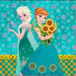 Mini Confeti Frozen Fever Cute