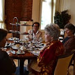 Gilded Age Tea Time Returns to Hotel Viking in Time for 2014 Season of Downton Abbey - Tea Time is Saturdays and Sundays 2 p.m. until 4 p.m.