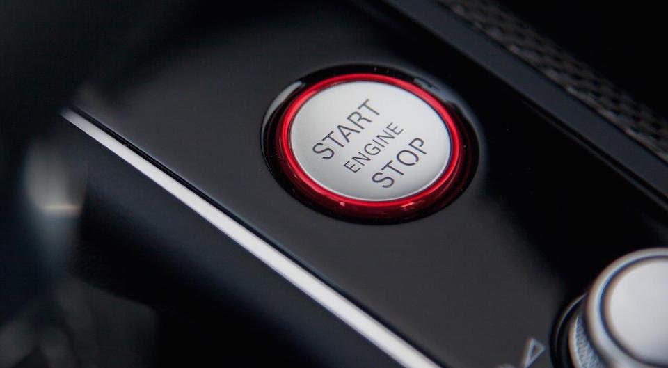 Audi Start Button