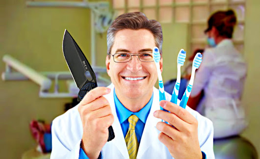 Teeth Ain't Tools: Why 4 out of 5 dentists recommend using a pocket knife »