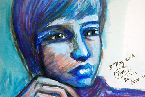 por15-20mins Portrait nr 2 3rd May trait2b-700