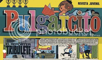 Bajo el logotipo creado por Sagasty, una historieta apócrifa de Tribulete