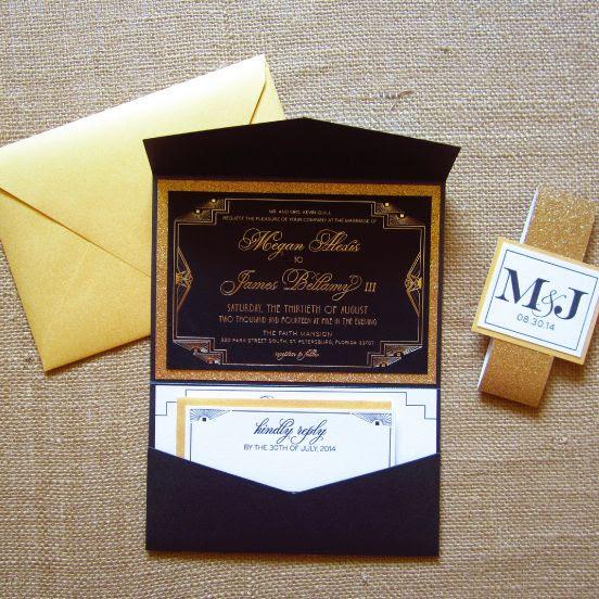 eine wunderschöne marineblau, weiß und gold-glitter-Hochzeits-Einladung-suite, die mit einer response-Karte und einem gold-Umschlag