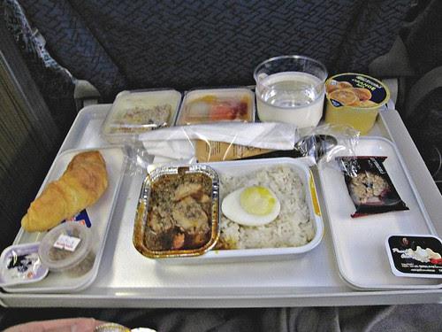 MAS' flight breakfast on MH 88