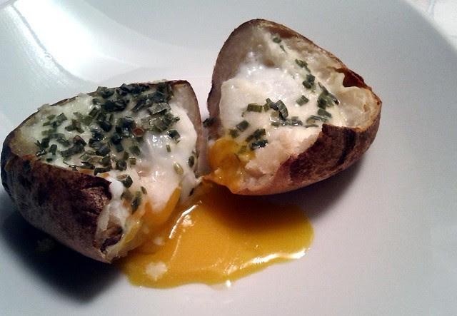 Egg-Stuffed Potato