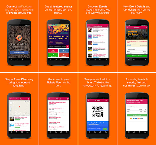 Egotickets Android App Launched • Egotickets Blog