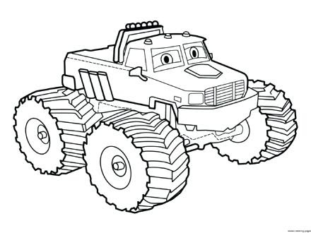 Bigfoot Monster Truck Coloring Pages at GetColorings.com ...