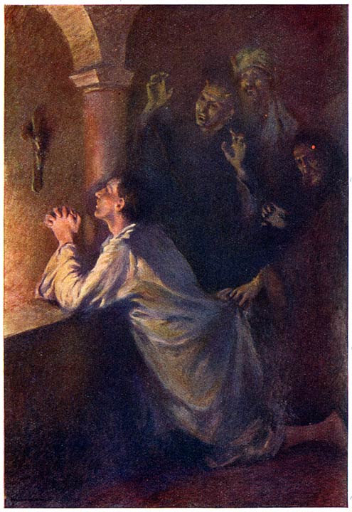 Resultado de imagem para younger man praying painting