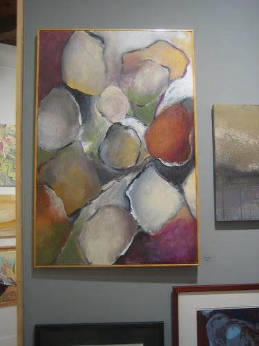 Rock Fall by Neil Haskell, Green - Berkeley Art Center Member Show 2010 _ 9388