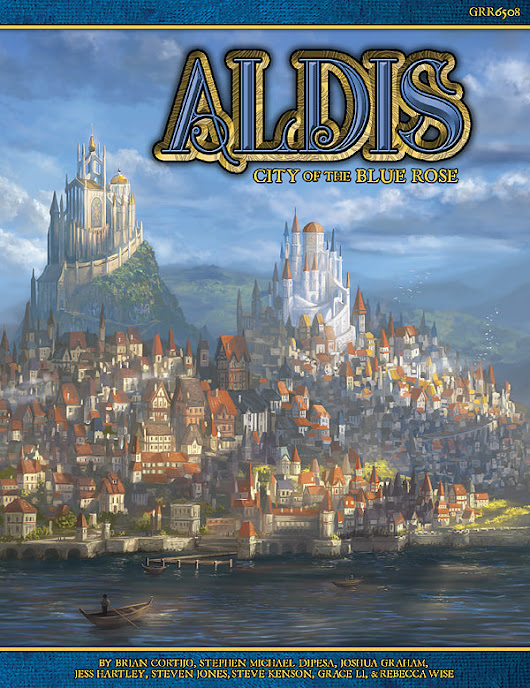 Aldis: City of the Blue Rose (PDF) - Green Ronin Online Store