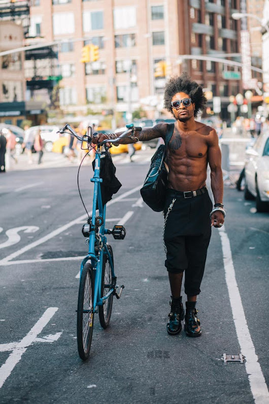 Portraits of Hip New Yorkers with Their Bikes - Feature Shoot