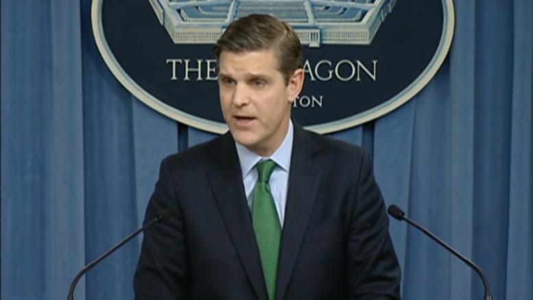 Resultado de imagem para peter cook pentagon spokesman
