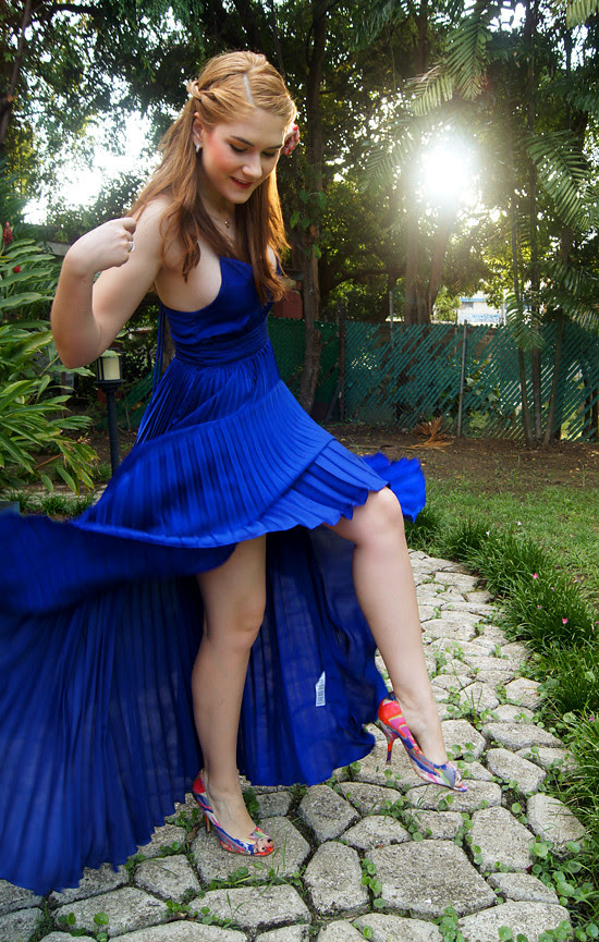 Pleated dress by The Joy of Fashion (3)