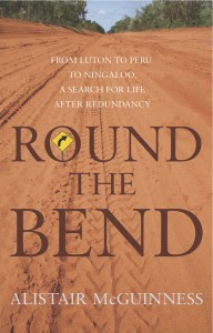 Round the bend book cover