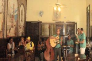Erick y su conjunto de música tradicional cubana - Foto Marcia Cairo