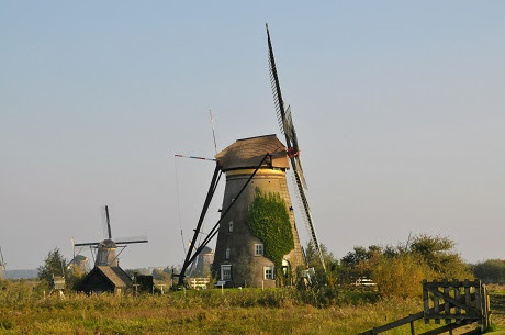 Visiting the Famous Windmills of Kinderdijk with Kids