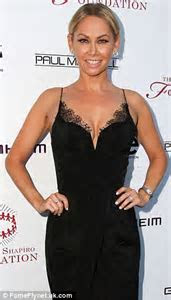 Dancing With The Stars' Kym Johnson shows off her cleavage