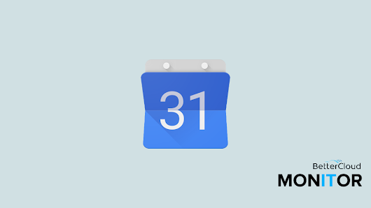 Want More Efficient, Effective Meetings? It All Starts with Google Calendar - BetterCloud Monitor