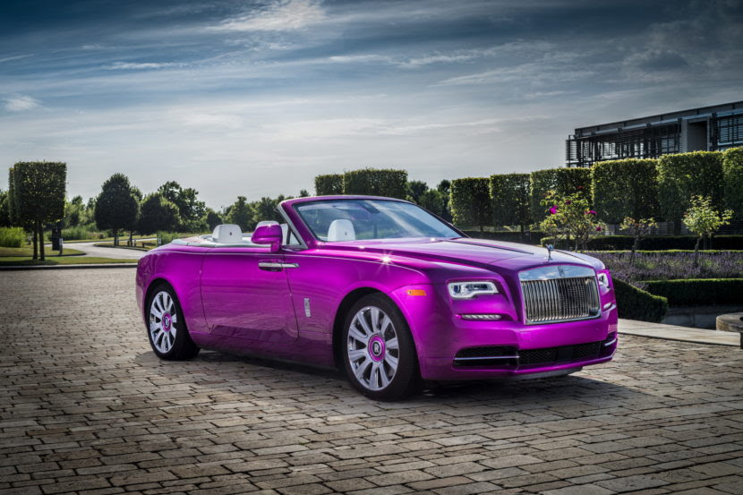 Rolls-Royce special Dawn edition unveiled